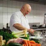 Cuisine avec les produits du marché