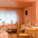 Salle du restaurant hôtel Luz Le Montaigu