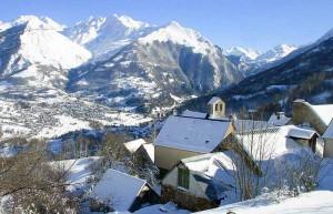 Vallée du Gave, vue de Luz Saint Sauveur